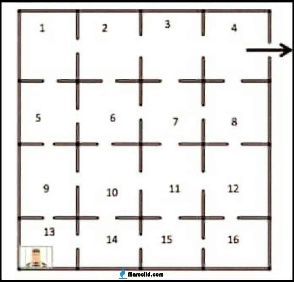 حل لغز سجين مات في الزنزانه رقم ١٣