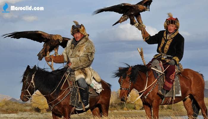 دولة اسيوية سكانها من المغول