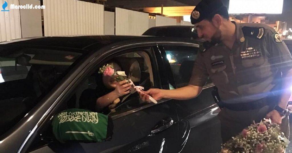 سعودية تسوق سيارة