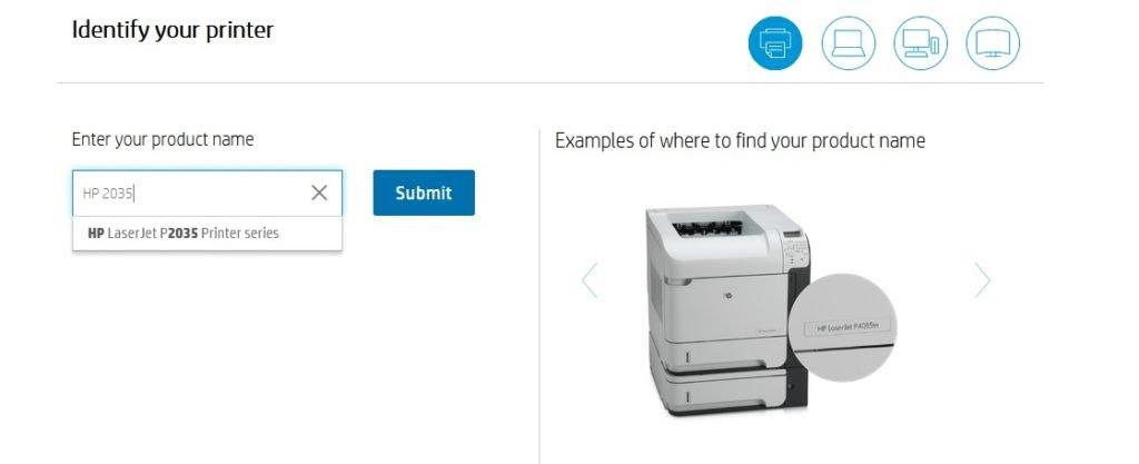 تحميل تعريف طابعات HP